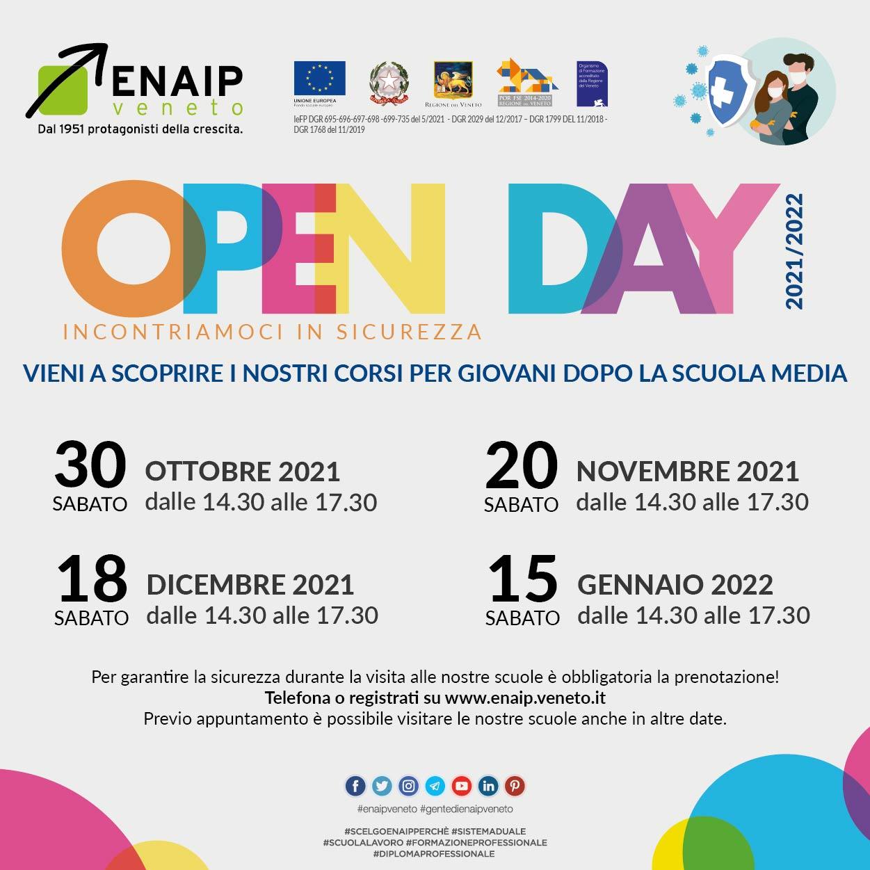 OPEN DAY 2021-22 BASSANO DEL GRAPPA