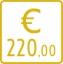 220,00 euro